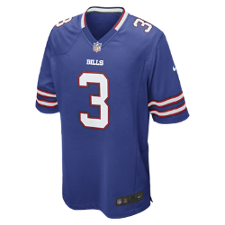 NFL Buffalo Bills (E.J. Manuel) Men's American Football Home Game Jersey