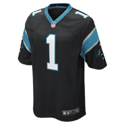 NFL Carolina Panthers (Cam Newton) Men's American Football Home Game Jersey