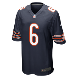 NFL Chicago Bears (Jay Cutler) Men's American Football Home Game Jersey