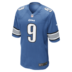 NFL Detroit Lions (Matthew Stafford) Men's American Football Home Game Jersey