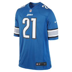 NFL Detroit Lions (Reggie Bush) Men's American Football Home Game Jersey