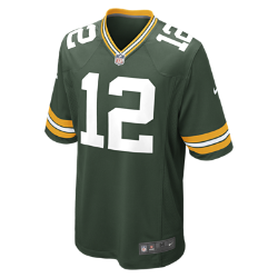 NFL Green Bay Packers (Aaron Rodgers) Men's American Football Home Game Jersey