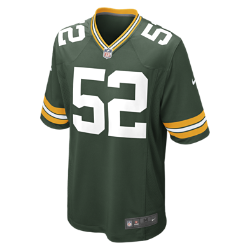 NFL Green Bay Packers (Clay Matthews) Men's American Football Home Game Jersey