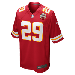 NFL Kansas City Chiefs (Eric Berry) Men's American Football Home Game Jersey