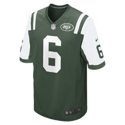 NFL New York Jets (Mark Sanchez) Men's American Football Home Game Jersey