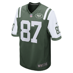 NFL New York Jets (Eric Decker) Men's American Football Home Game Jersey