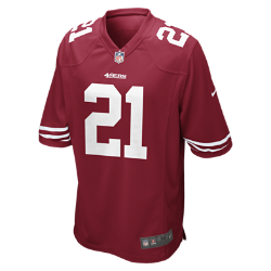 NFL San Francisco 49ers (Frank Gore) Men's American Football Home Game Jersey