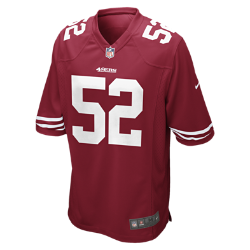 NFL San Francisco 49ers (Patrick Willis) Men's American Football Home Game Jersey