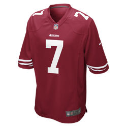 NFL San Francisco 49ers (Colin Kaepernick) Men's American Football Home Game Jersey