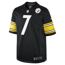 NFL Pittsburgh Steelers (Ben Roethlisberger) Men's American Football Home Game Jersey