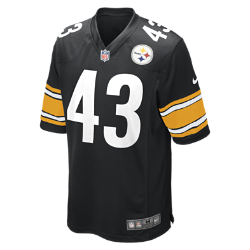 NFL Pittsburgh Steelers (Troy Polamalu) Men's American Football Home Game Jersey