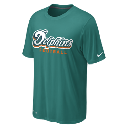 Nike Legend Font (NFL Dolphins) Men's Training T-Shirt