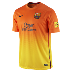2012/13 FC Barcelona Replica Short-Sleeve Men's Football Shirt