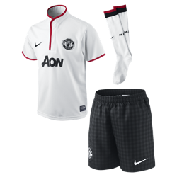 2012/13 Manchester United Authentic (3y-8y) Little Boys' Football Kit