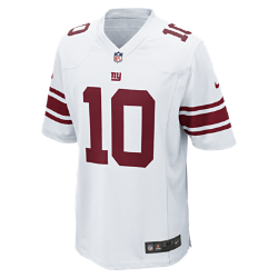 NFL New York Giants (Eli Manning) Men's American Football Away Game Jersey