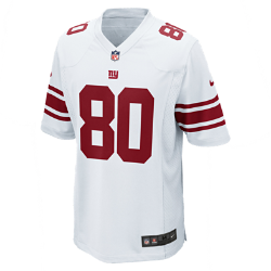 NFL New York Giants (Victor Cruz) Men's American Football Away Game Jersey