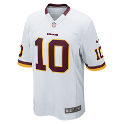 NFL Washington Redskins (Robert Griffin III) Men's American Football Away Game Jersey