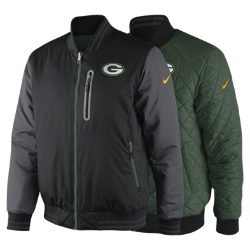 Nike Destroyer OW (NFL Packers) Men's Reversible Jacket