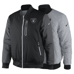 Nike Destroyer OW (NFL Raiders) Men's Reversible Jacket