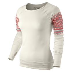 Nike Pro Printed Hyperwarm Crew Women's Shirt