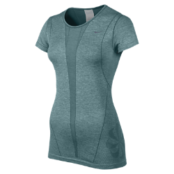 Nike Dri-FIT Knit Short-Sleeve Women's Running Shirt