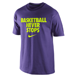 "Nike ""Basketball Never Stops"" Men's T-Shirt"