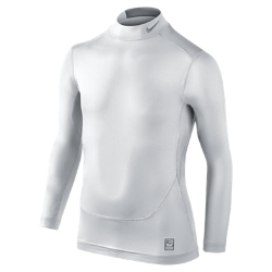 Nike Pro Combat Core Compression Mock Neck Boys' Shirt