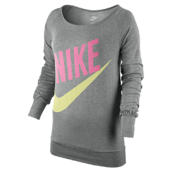 Nike Logo Long-Sleeve Women's Top