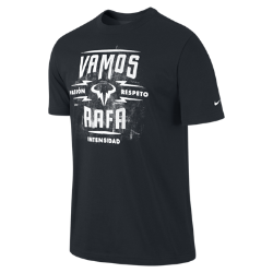 Nike Premier Rafa Vamos Lockup Men's Tennis T-Shirt
