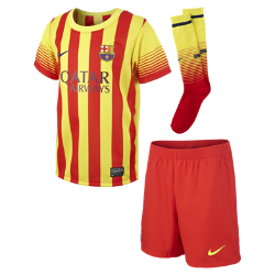 2013/14 FC Barcelona Replica (3y-8y) Little Kids' Football Kit