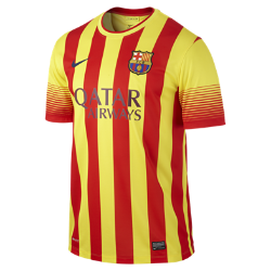 2013/14 FC Barcelona Stadium Men's Football Shirt