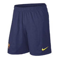 2013/14 FC Barcelona Replica Men's Football Shorts