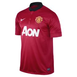 2013/14 Manchester United Stadium Men's Football Shirt