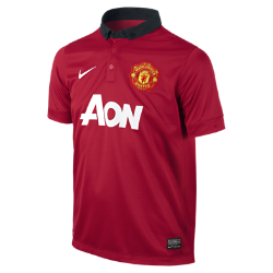 2013/14 Manchester United Stadium (8y-15y) Kids' Football Shirt
