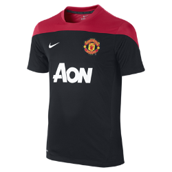 Manchester United Squad Training (8y-15y) Kids' Football Shirt