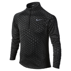 Nike Jacquard Element Half-Zip (8y-15y) Boys' Running Shirt