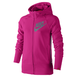 Nike Heritage SB Full-Zip Girls' Running Hoodie