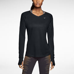 Nike Dri-FIT Wool V-Neck Women's Running Shirt