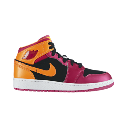 Air Jordan 1 Mid Girls' Shoe