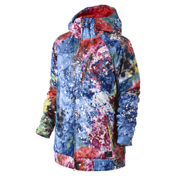 Nike Alpenglow Print Women's Hooded Jacket