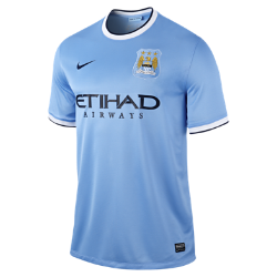 2013/14 Manchester City FC Stadium Men's Football Shirt