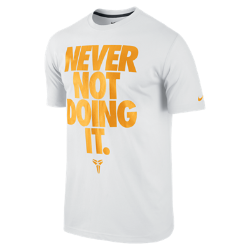 "Kobe ""Never Not Doing It"" Men's T-Shirt"