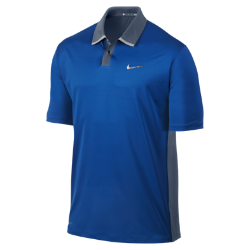 TW Perforated Panel Men's Golf Polo Shirt