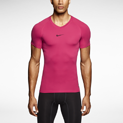 Nike Pro Combat Lightweight Seamless Short-Sleeve Men's Shirt