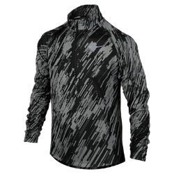 Nike Element Jacquard Half-Zip Long-Sleeve (8y-15y) Boys' Running Top