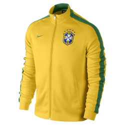 Brasil CBF N98 Authentic Men's Track Jacket