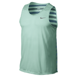 Nike Dri-FIT Touch Tailwind Striped Men's Running Tank Top