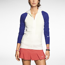 Nike Dri-FIT Knit Women's Tennis Sweater Jacket
