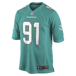 NFL Miami Dolphins Men's American Football Home Game Jersey