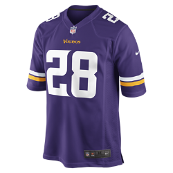 NFL Minnesota Vikings (Adrian Peterson) Men's American Football Home Game Jersey